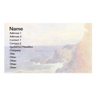 Paul Gauguin - Rocky Coast Business Card Templates