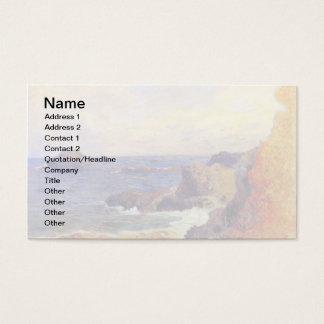 Paul Gauguin - Rocky Coast Fine Art Painting Business Card