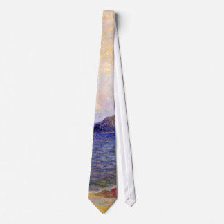 Paul Gauguin - Rocky Coast Fine Art Painting Neck Tie