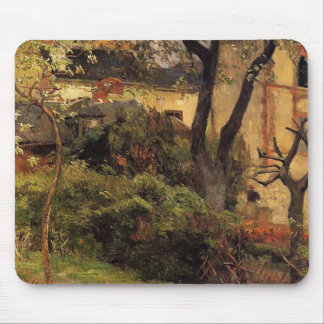Paul Gauguin- Rouen at spring Mousepads