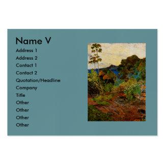 Paul Gauguin s Martinique Landscape 1887 Business Card