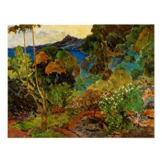 Paul Gauguin s Martinique Landscape 1887 Announcement