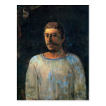 Paul Gauguin Self Portrait 2 Postcard