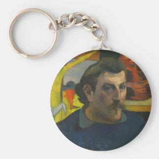 Paul Gauguin Self Portrait 3 Keychain