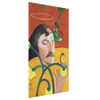 Paul Gauguin Self Portrait Fine Art Painting Stretched Canvas Prints