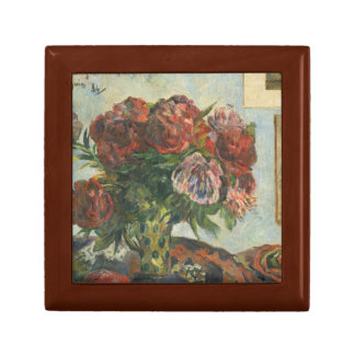 Paul Gauguin - Still Life with Peonies Jewelry Box