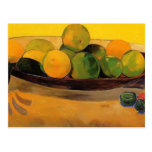 Paul Gauguin- Still life with Tahitian oranges Postcard