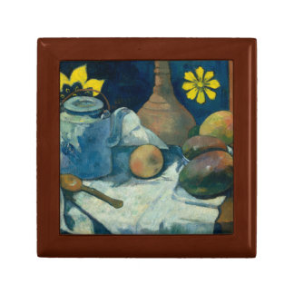 Paul Gauguin - Still Life with Teapot and Fruit Jewelry Box