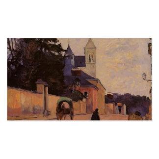 Paul Gauguin- Street in Rouen Business Card Template