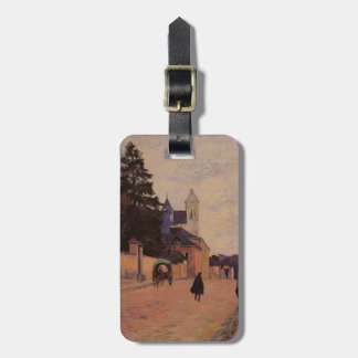 Paul Gauguin- Street in Rouen Tag For Bags