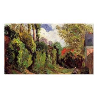 Paul Gauguin- Sunken Lane Business Card