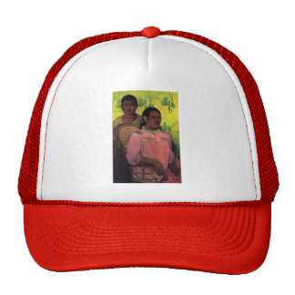 Paul Gauguin- Tahitian woman and boy Trucker Hat
