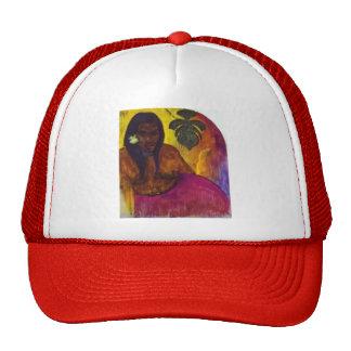 Paul Gauguin- Tahitian Woman Trucker Hat