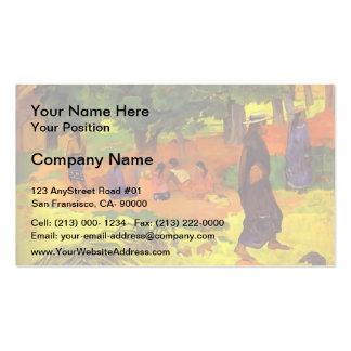 Paul Gauguin- Taperaa Mahana Business Cards