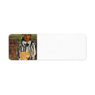 Paul Gauguin- Tehamana tiene muchos padres Etiquetas De Remite