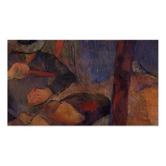Paul Gauguin- The clog-maker Business Card