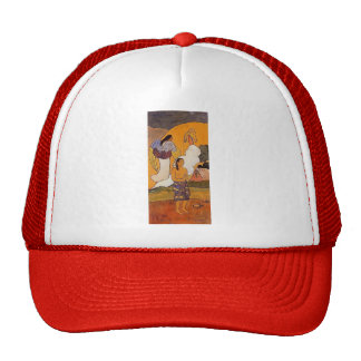 Paul Gauguin- The encounter Trucker Hat