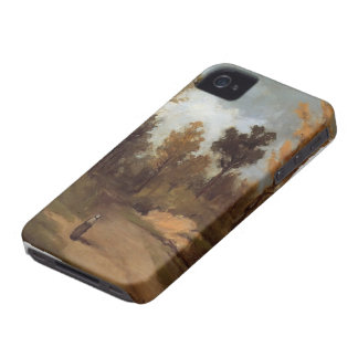 Paul Gauguin- The Forest Path iPhone 4 Covers