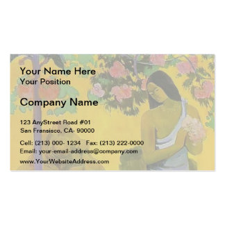 Paul Gauguin- The month of Maria Business Cards