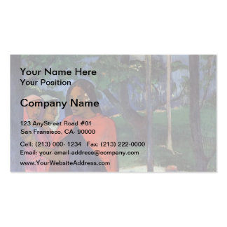 Paul Gauguin- The Sorcerer of Hiva Oa Double-Sided Standard Business Cards (Pack Of 100)
