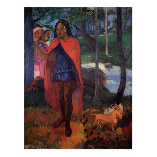 Paul Gauguin- The Sorcerer of Hiva Oa Postcard