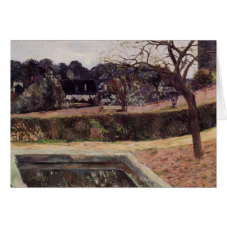 Paul Gauguin- The square pond Greeting Cards