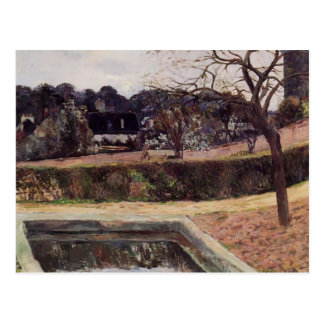 Paul Gauguin- The square pond Post Card