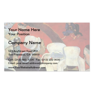 Paul Gauguin- The Vision after the Sermon Double-Sided Standard Business Cards (Pack Of 100)
