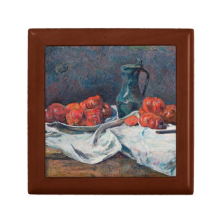 Paul Gauguin - Tomatoes and a Pewter Tankard Keepsake Box