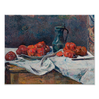 Paul Gauguin - Tomatoes and a Pewter Tankard Poster