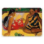 Paul Gauguin Two Women Of Tahiti Parau Api Vintage Personalized Invite