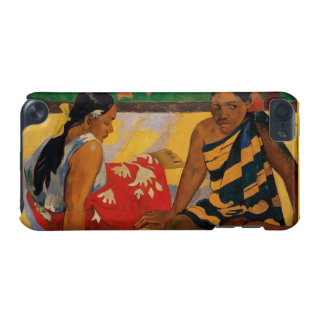 Paul Gauguin Two Women Of Tahiti Parau Api Vintage iPod Touch (5th Generation) Cover