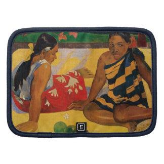 Paul Gauguin Two Women Of Tahiti Parau Api Vintage Planners