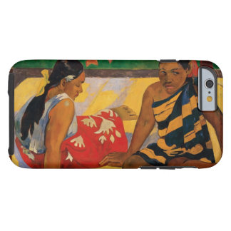 Paul Gauguin Two Women Of Tahiti Vintage Fine Art Tough iPhone 6 Case