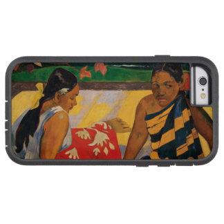 Paul Gauguin Two Women Of Tahiti Vintage Fine Art Tough Xtreme iPhone 6 Case