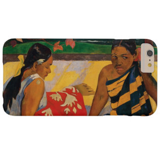 Paul Gauguin Two Women Of Tahiti Vintage Fine Art Barely There iPhone 6 Plus Case