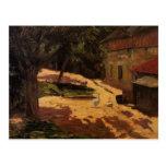 Paul Gauguin- un gallinero Tarjetas Postales