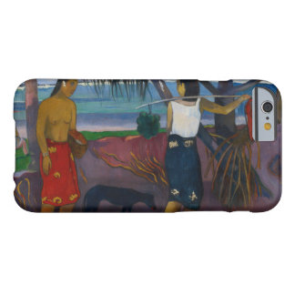 Paul Gauguin - Under the Pandanus Barely There iPhone 6 Case