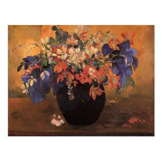 Paul Gauguin- Vase of flowers Postcards
