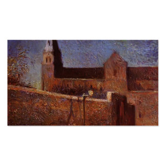 Paul Gauguin- Vaugirard church Business Card Templates