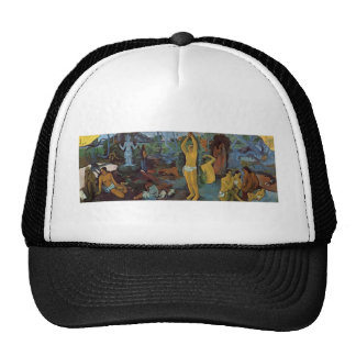 Paul Gauguin- Where Do We Come From? What Are We? Trucker Hat