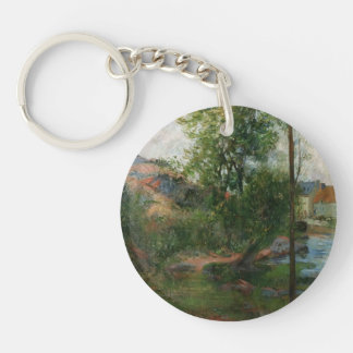 Paul Gauguin- Willow by the Aven Key Chain