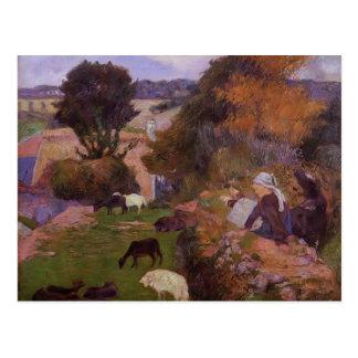 Paul Gauguin- Willows Postcards