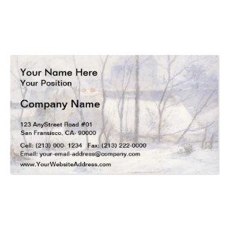 Paul Gauguin- Winter Landscape Business Cards
