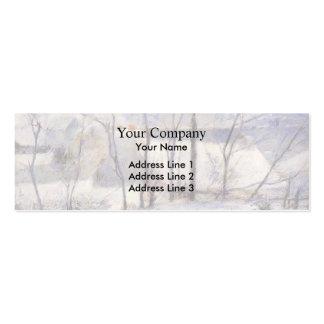 Paul Gauguin- Winter Landscape Business Card