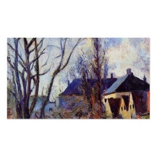 Paul Gauguin- Winter's end Business Card Templates