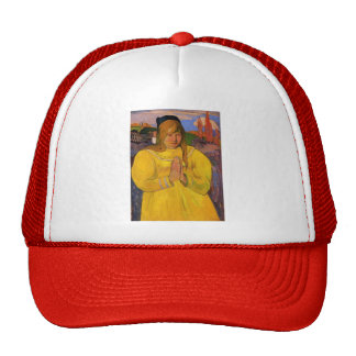 Paul Gauguin- Young Christian Girl Trucker Hat