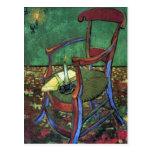 Paul Gauguin's Armchair by Vincent van Gogh 1888 Post Card