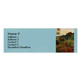 Paul Gauguin's Martinique Landscape (1887) Business Card Template