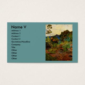 Paul Gauguin's Martinique Landscape (1887) Business Card
